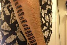 Tattoos / by Danielle Gordon