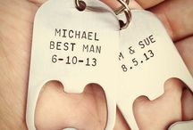 wedding bridal party gifts / by Nay