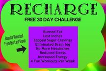 RECHARGE30DAYCHALLENGE / Free Transformational online Transformational Challenge. Burn Fat, Over come Cravings Bodyweight Routines Motivational Audios Walking Routines for Adrenal Fatigue Live Coaching Calls 3 Day Reset / Detox Program  Share with your friends. Next challenge starts Oct. 1st, 2014. Sign up NOW!!! tamaragold.co/challenges/recharge30 / by Tamara Gold Empowering Living