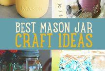 MASON JARS / by linda fenwick