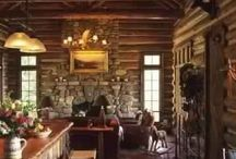 Rustic architecture / Rustic vintage homes filled with old world style & modern appliances...warm woods, earthy stone & cozy decor! Perfection / by Michelle Gordy
