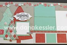 Christmas Layouts / by Tammy Avery