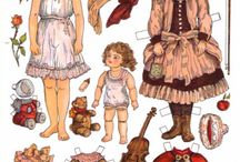 Paper DOLLS / by Colleen MacKay