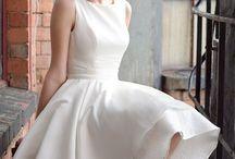 Wedding dress / by Myrda Monasterial Vale