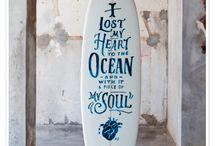 surfboards / by rosariio calvo olivares
