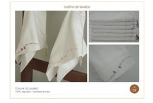 toalha de lavabo / by cida Ihara