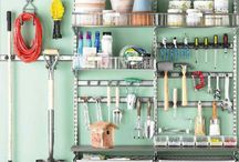 Garage Paradise / Organization & plan of attack for our garage & attic.  / by Kelly James