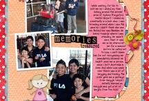 scrapbook layouts / by Marlyn Ramirez