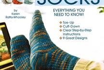 I Cant Believe I'm Crocheting Socks / by Karen Whooley / KRW Knitwear Studio