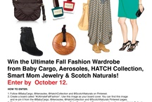 Baby Cargo's Ultimate Fall Fashion Pin It to Win It & Sweepstakes / by Aerosoles