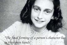 Anne Frank / by Ann Wright