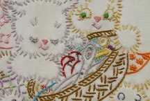 Embroidery & Stitching / by Anorina @Samelia's Mum