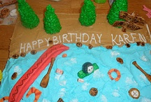 Katie's Cakes and Kupcakes / These are a few of the creative cupcakes and cakes I have been working on recently. I love what I do! / by Katelyn Eisenhour