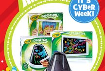 #CyberWeek / The online deals you won't want to miss / by ToysRUs