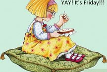 It's Friday!!! / by CrossStitchForYou
