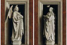 Miradas Cruzadas 6: Reflejos. De Van Eyck a Magritte / La recreación de superficies reflectantes entre los objetos de un cuadro ha sido un motivo constante en la pintura que, ya desde el siglo XV, tiene fascinados a un gran número de artistas por las posibilidades pictóricas que ofrece / by Museo Thyssen-Bornemisza