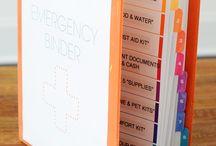 Emergency preparation / by Jennifer Heinschel