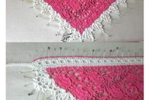 CROCHET PATTERN + EDGES / by Creatina made