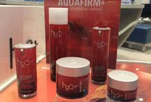 Aquafirm for loss of elasticity and firmness / Firmer skin in minutes. Plumping marine micro spheres and deep-sea nutrients visibly lift and firm on contact.  / by H2O Plus India