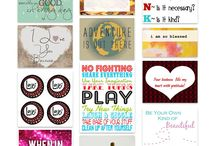Printables & Fonts! / by Brittany Manley