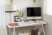 workspace makeover / by Carrie Smith