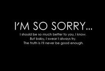 Not good enough.. / by Kiera Rose