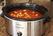 Crock recipes / by Dawn Fondren