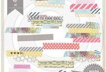Digi/Scrap / by Mel @Domesticated Lady