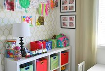 Play room/guest room / by Catherine Wilson
