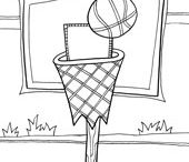Coloring Pages - Sports / by Doodle Art Alley