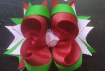 Hair bows to make / Hair bows / by Heather