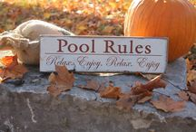 Pool  / by The Rustic Sign