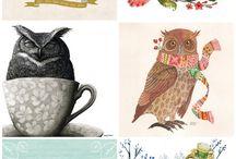 Printable Calendars / by Alison Butler (The Petit Cadeau Blog)