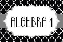ALGEBRA / by Teresa Winings