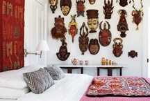 Bohemian Interiors / Travelling is my inspiration, collecting where ever I go........ / by Andrea Leiper