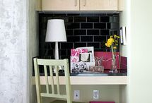 Office/Nook Ideas / by Melissa Byrne