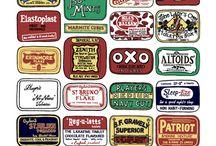 British food packaging / by Helen .