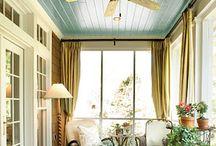 Porch ceiling / by Caroline Carlsson