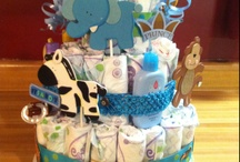 Diaper cakes I like...  / by Leonor Reyes