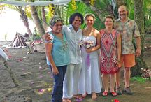 Wedding on the beach, pure nature and jungle, unforgettable day at Finca Exotica Ecolodge! / At Finca Exotica rainforest and beach eco lodge we can host your wedding or retreat. We have an unique location and facilities, along with years of experience and the desire to help you have the greatest day. Please Contact Us for availability and details.  www.fincaexotica.com / by Finca Exotica Eco lodge