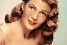 Redheads: Rita Hayworth / Beautiful old Hollywood glamour icon and redhead (although she was actually Hispanic by birth), Rita Hayworth. / by Alison Emmert