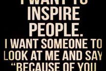 Inspirational Classroom / Ways to inspire students  / by Teacha Mathmojo