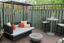 Outdoor living / by Deborah Fountain-Yates