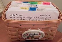 Recipe storage / by Amanda Skinner