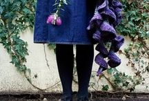 Knits spins and crochet / by Brenda Kempf
