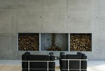 INTERIOR - FIREPLACES / by Holly Findlay