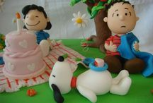 Snoopy Cakes & Treats / Things to eat shaped as Snoopy / by Melinda Hampton