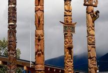 Art Totem Poles / by Paula Swanson