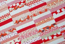 Red and White Quilts / by Karen Ganske