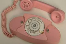 """One Ringy Dingy... / because my mama was the town operator  we """"went dial"""" when i was in the 3rd grade and she chose my high school graduation year to be our phone number.... which is still my phone number today at age 54. / by Mary Beth Burrell"""